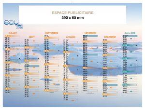 ephemeride-edition-caledendriers-bancaire-premium-eau-nouveautés-2018